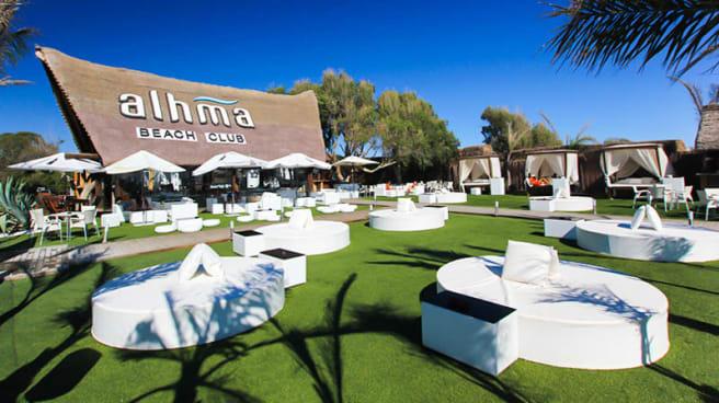 Vista terraza - Alhma Beach Club (Playa del Palmar), Vejer De La Frontera