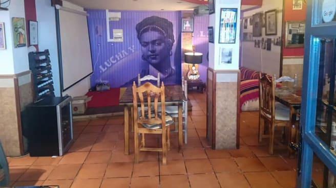 Vista de la sala - BaRpublica, Mojacar