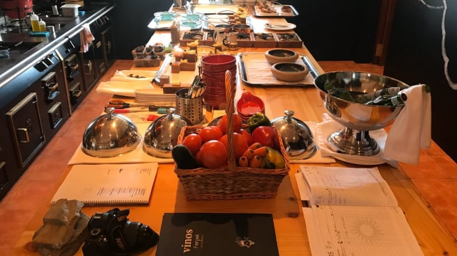 Mesa del chef - Ferpel gastronómico