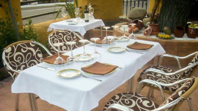 Vista terraza - El Gorro Blanco desde 1975, Los Molinos