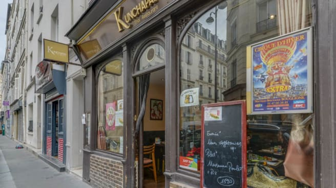 Entrée - Kunchapai, Paris