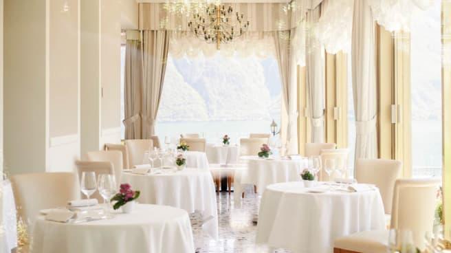 Salone ristorante - La Terrazza Lake Como, Bellagio