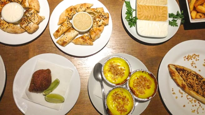 Prato - Sultão Turkish Restaurante, São Paulo