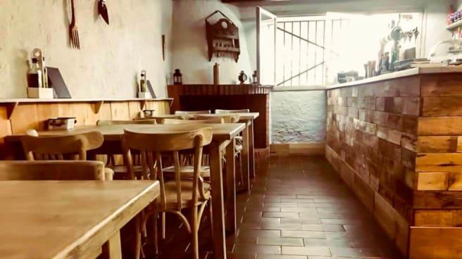 Vista del interior - Masia Can Raimí, Argentona
