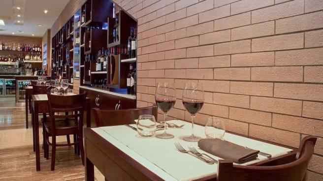 Sala del ristorante - Vanni, Roma