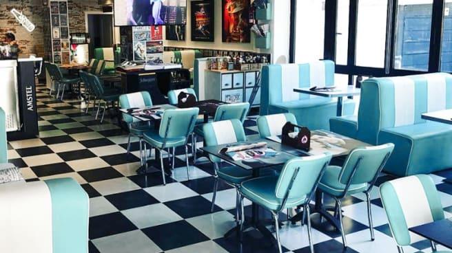 Vista de la sala - 70s & 80s American Diner, Salou