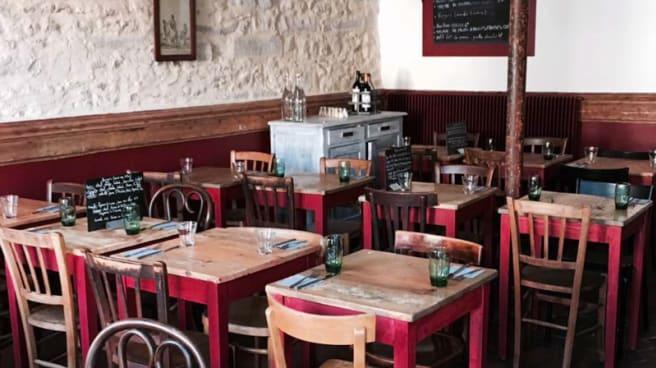 Salle du restaurant - Le 91150, Étampes