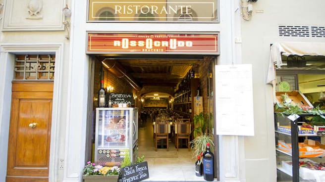 Entrata - Rosso Crudo, Firenze