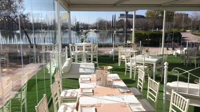 Vista terraza - La Suite del Lago, Pinto