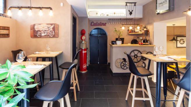 Interno - Garage Gourmand, Napoli