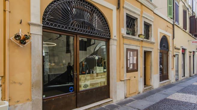 Entrata - Hostaria Cosmopolitan, Brescia