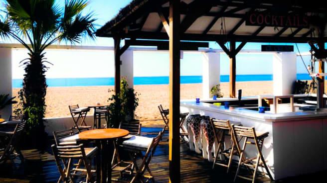 la terraza en la playa - Chamaco Beach - Malgrat, Malgrat De Mar