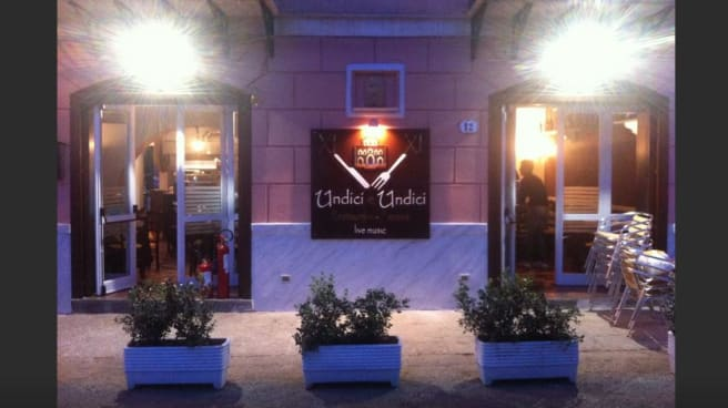 Facciata esterna - Undici e Undici, Palermo