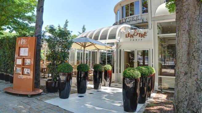Bienvenue au restaurant Pavillon Elysée Café Lenôtre - Pavillon Elysée Café Lenôtre, Paris