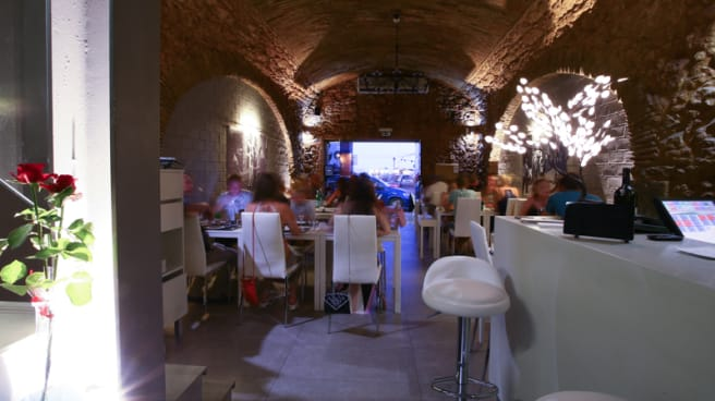 sala do restaurante - Pizza na Pedra