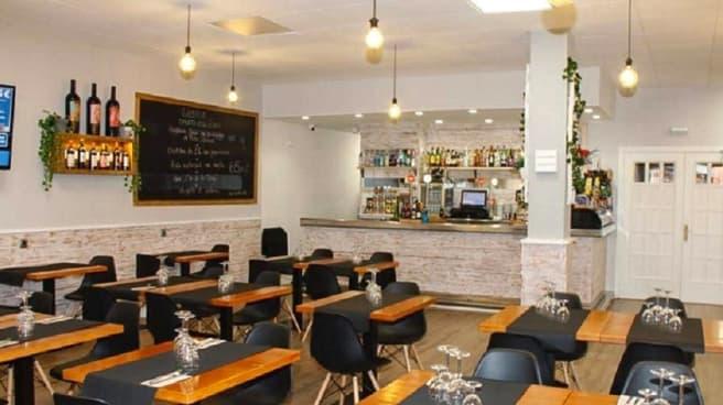 Sala del restaurante - Mas Ram, Badalona