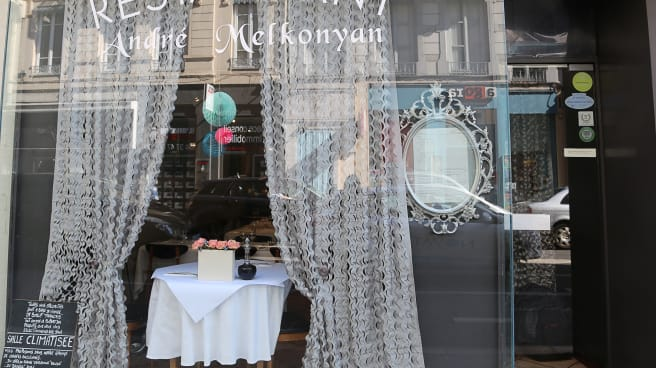 Bienvenue au restaurant André Melkonyan - André Melkonyan, Lyon