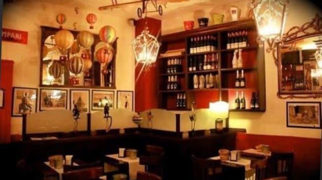 Sala ristorante - Cantina Concordia, Milan
