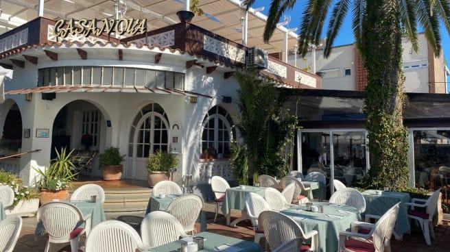 Entrada restaurante - Pizzeria Casanova, Castelldefels