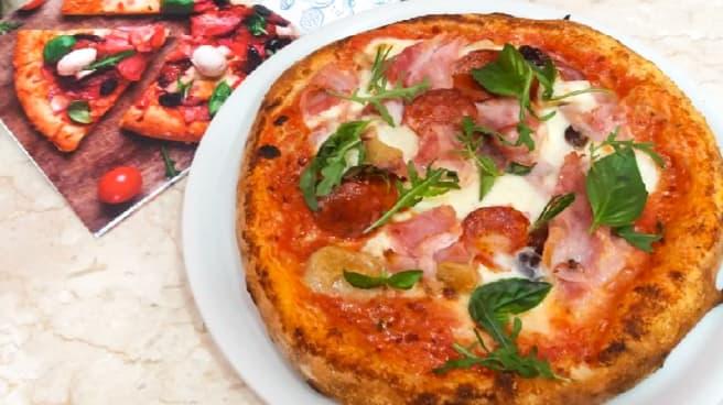 Pizza - La Lampara, Trapani
