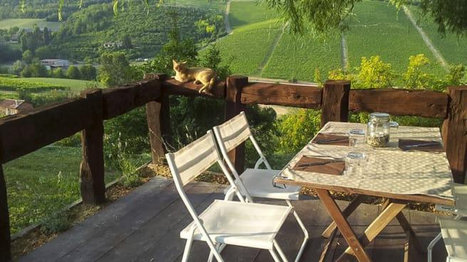 Angolo con veduta panoramica - Locanda Casa Costa