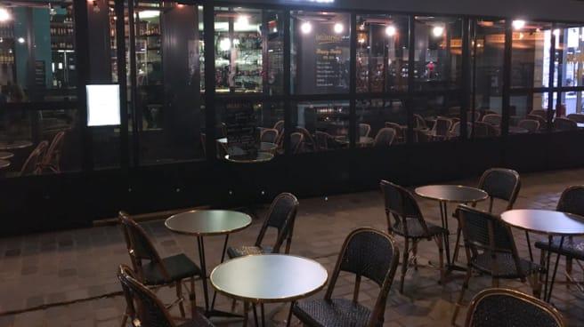 Entrée - Le Mimosa, Paris