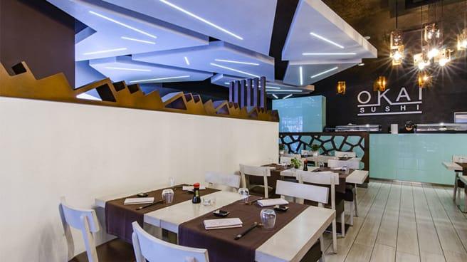 Vista sala - Okai Fusion Restaurant Sushi, Bergamo