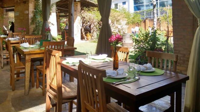 Sala do restaurante - A Quinta do Bacalhau, Cotia