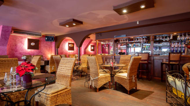Salle du restaurant - Le Bora, Dijon
