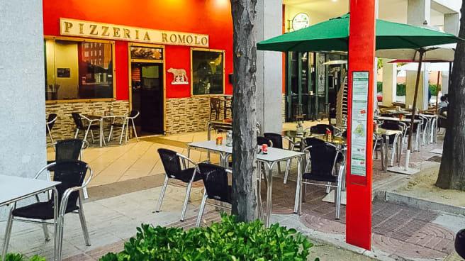 Vista terraza - Trattoria Pizzeria Rómolo 2 - Camilo Jose Cela, Las Rozas