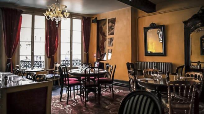 vue de la salle - La Bocca, Paris