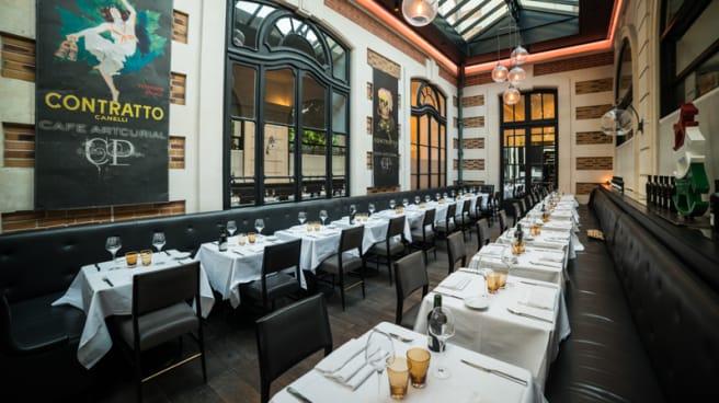 Vue de la aslle - Artcurial Sense.eat, Paris