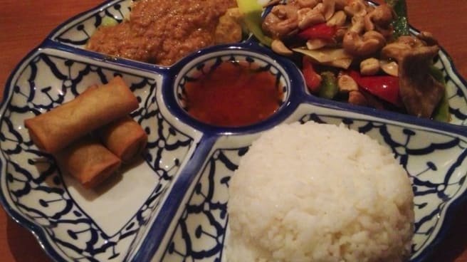 Chef's suggestions - Restaurant Siam, Stockholm