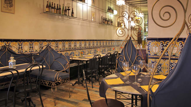 vista decoración - Restaurant 1932, Barcelona