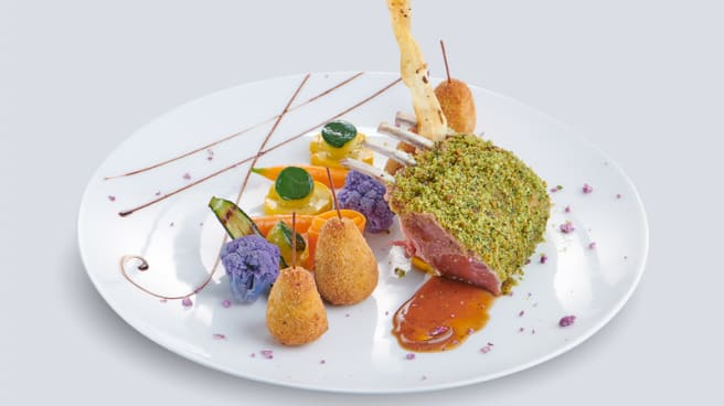 Carrée d'agneau à la provençale - Restaurant Le Léman, Vevey