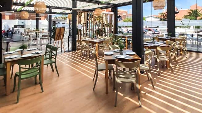 Sala del restaurante - Porto 7, Sanlúcar de Barrameda
