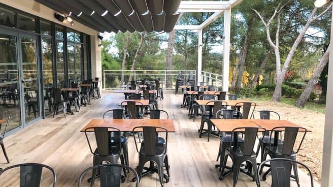 Terrasse - Le Comptoir du Parc - Parc du Golf, Aix-en-Provence