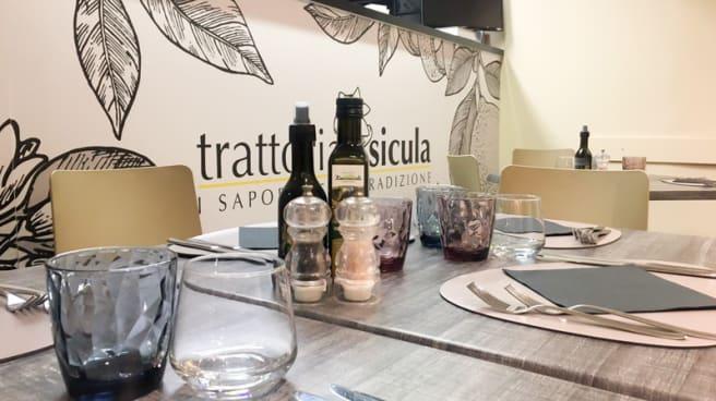 Vista sala - Trattoria Sicula, Messina