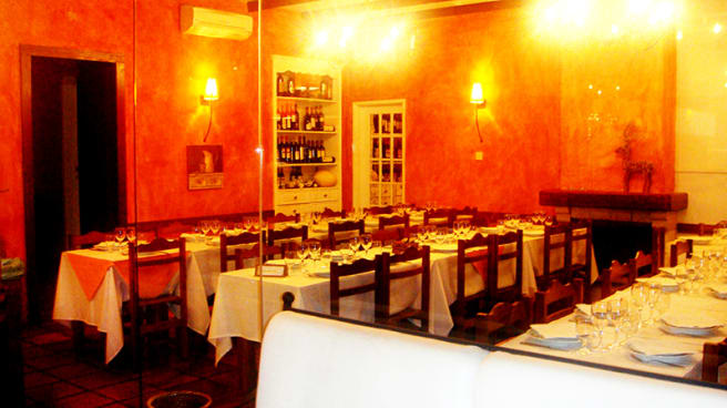 sala do restaurante - O Tunel, Sintra