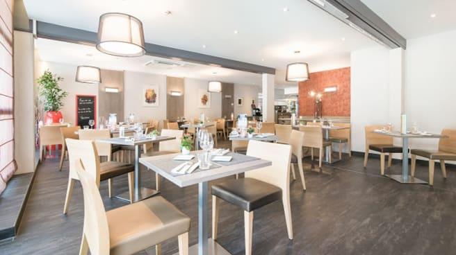 Salle du restaurant - Les Terres Gourmandes, Ostwald