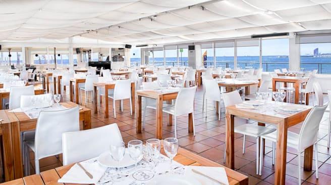 Vista sala - BOO Restaurant & Beach Club, Barcelona