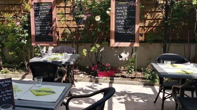 terrasse - La Table de Valérie, Strasbourg