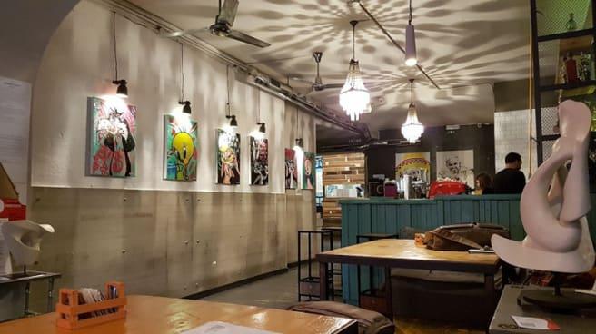 Vista sala - Analemma Cafe, Rome