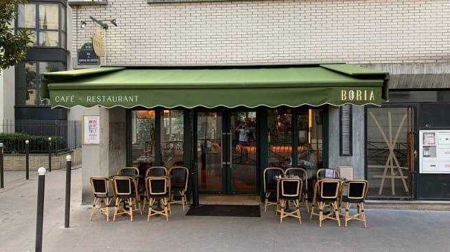 Terrasse - Boria, Paris