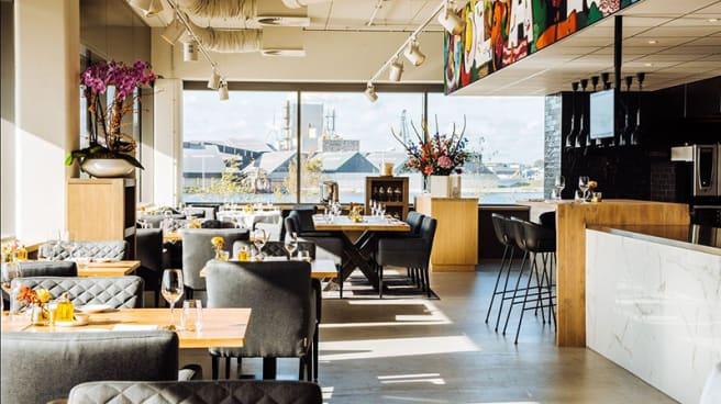 Het restaurant - Lars Amsterdam, Amsterdam