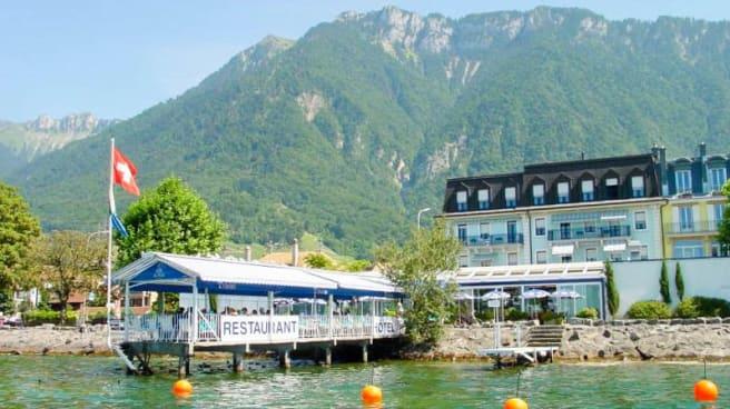 Façade - L'Oasis - Villeneuve Montreux