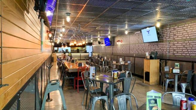Vista de la sala - BurgerFi (Hamburgo), Ciudad de México