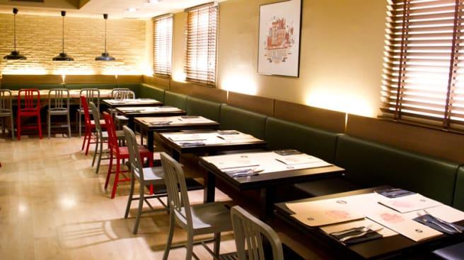 vista interior - New York Burger - San Germán, Madrid