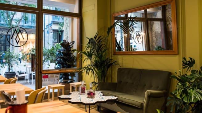 Sala del restaurante - Manglar, Barcelona