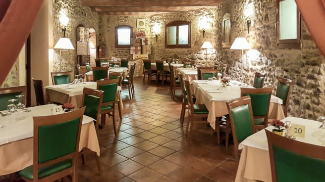 La sala - Ristorante La Spia d'Italia